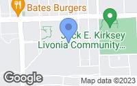Map of Livonia, MI