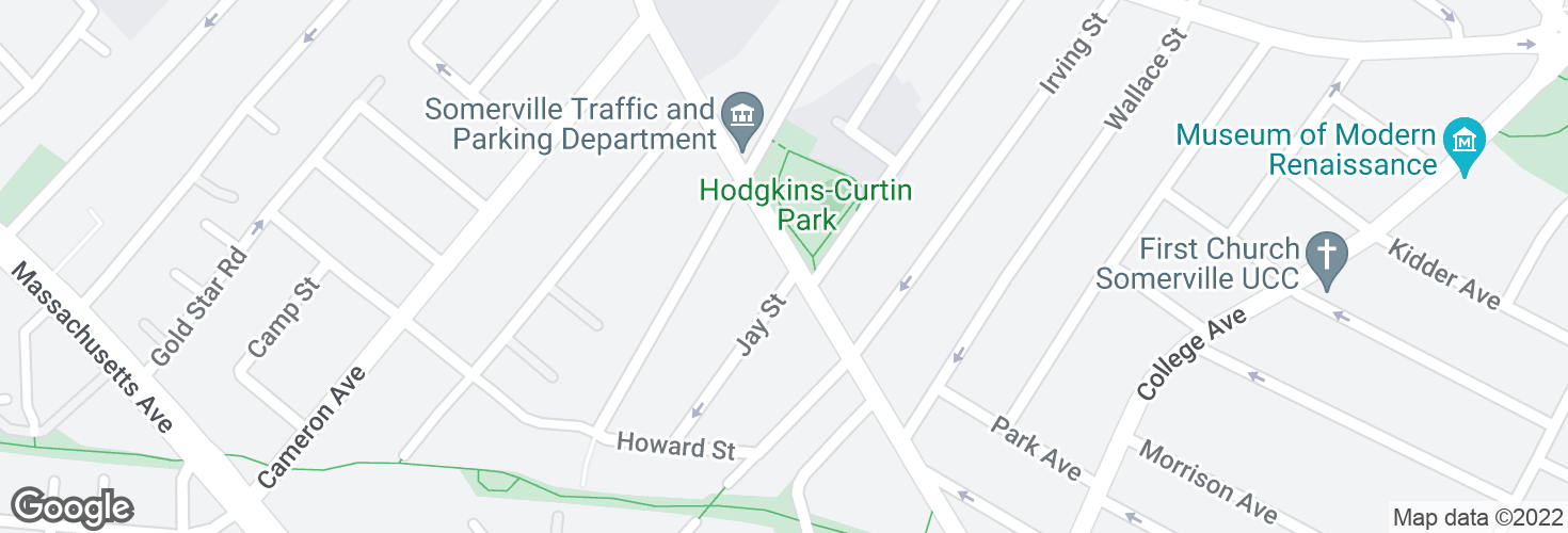 Map of Holland St @ Jay St and surrounding area