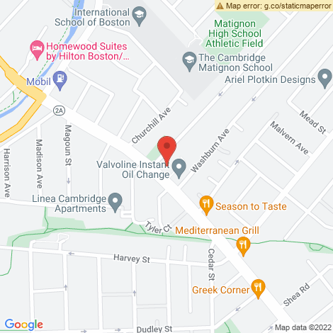 Midas Auto Service Experts - Metropolitan Boston Locations, Cambridge @ Cambridge - Location Map