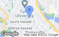 Map of Somerville, MA