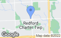 Map of Redford Charter Township, MI