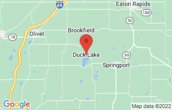 Map of Duck Lake