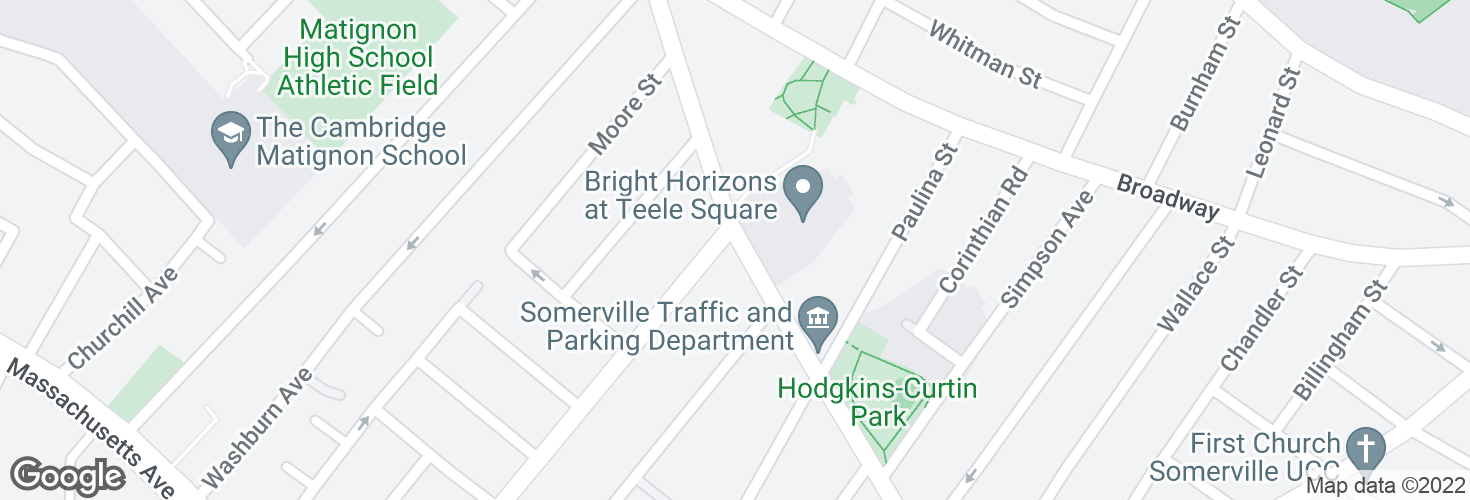 Map of Holland St @ Cameron Ave and surrounding area