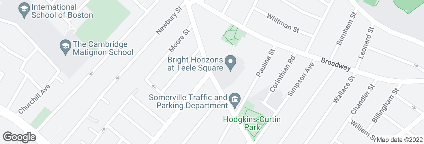 Map of Holland St opp Cameron Ave and surrounding area