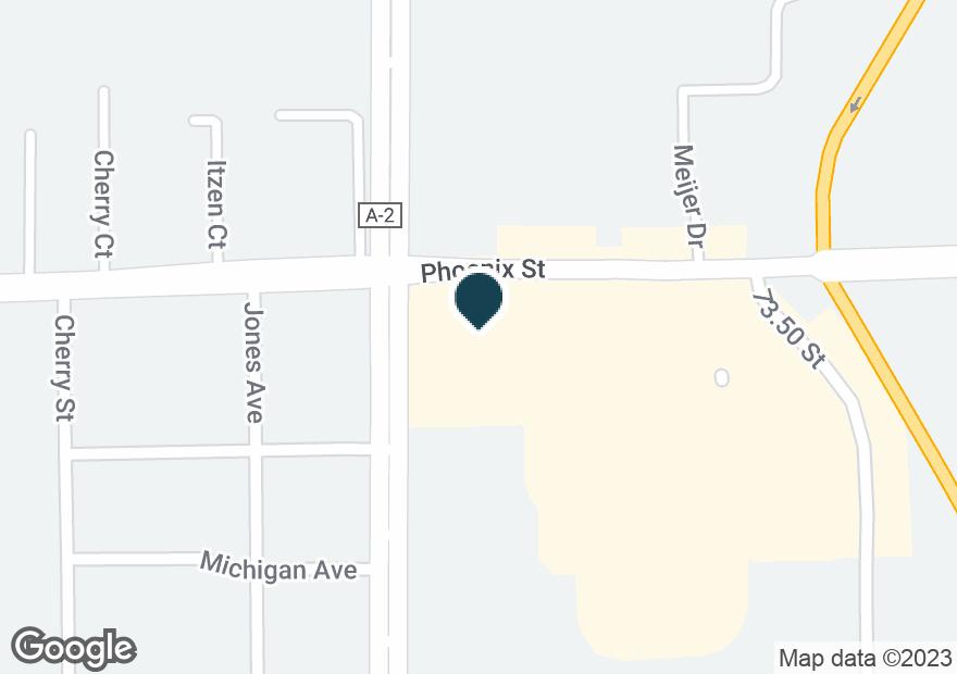 Google Map of1100 PHOENIX ST