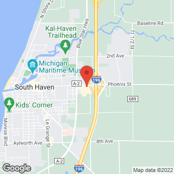 Map of Arby's at 73123 County Rd 388, South Haven, MI 49090