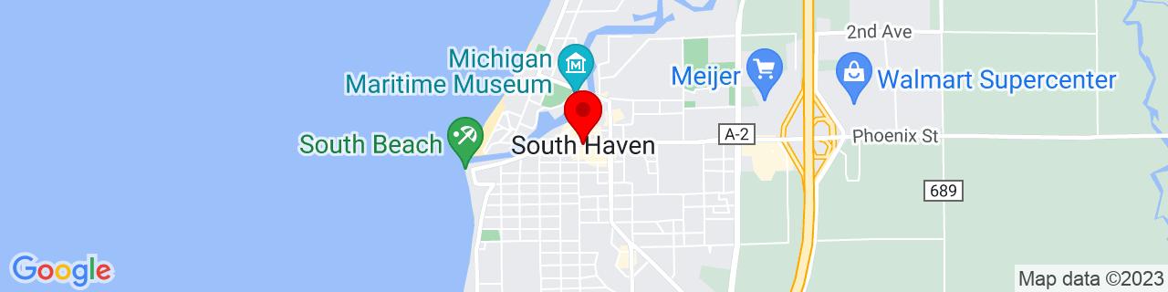 Google Map of 42.4030865, -86.2736407