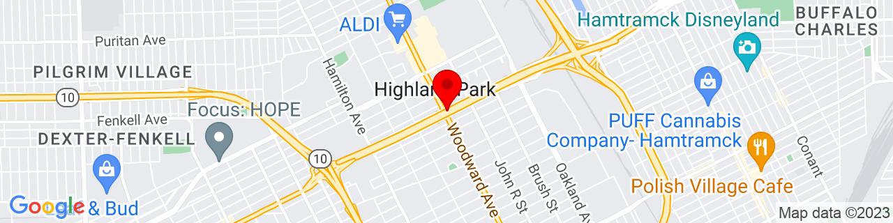Google Map of 42.4035729, -83.0953907