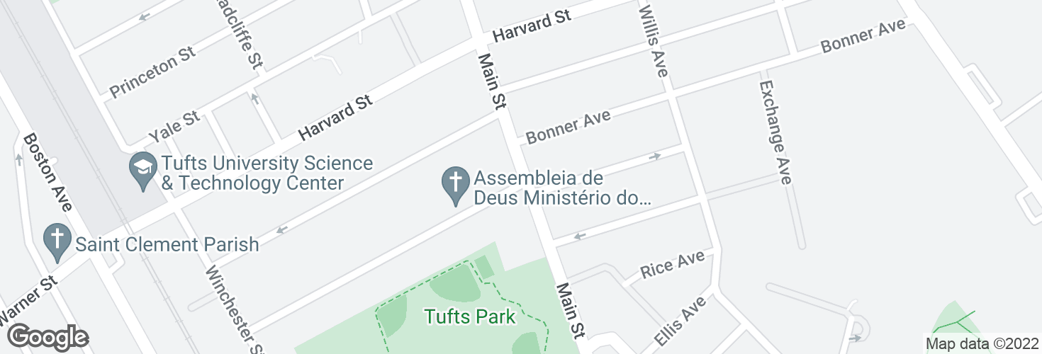 Map of Main St @ Marion St and surrounding area