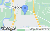 Map of Roscoe, IL