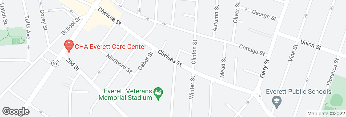 Map of Chelsea St @ Edmester Ct and surrounding area