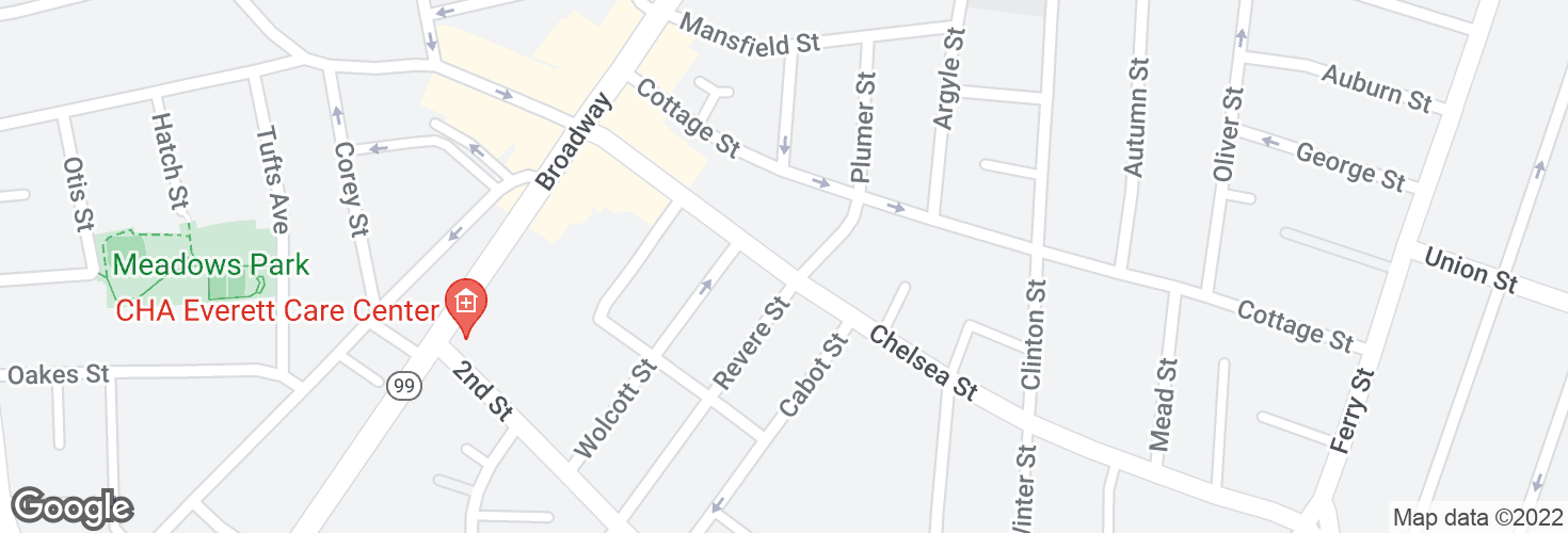 Map of Chelsea St @ Plumer St and surrounding area
