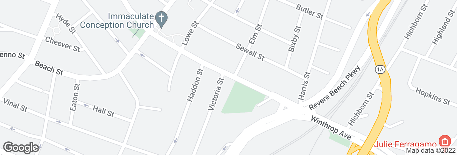 Map of Winthrop Ave @ Victoria St and surrounding area