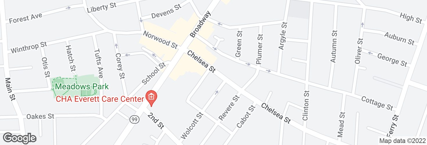 Map of Chelsea St @ Victoria St and surrounding area