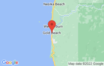 Map of Gold Beach