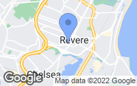 Map of Revere, MA