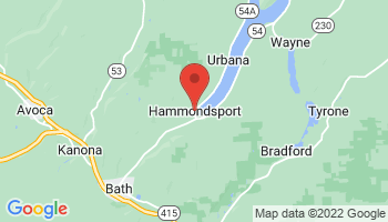 Map of Hammondsport