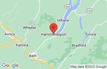 Map of Hammondsport