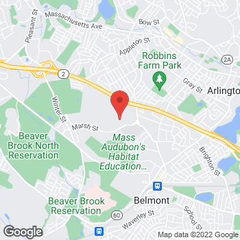 Map of Tanya Korkosz, MD at 60 Wellesley Road, Belmont, MA 02478