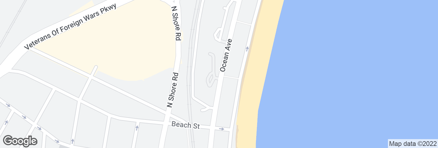 Map of 376 Ocean Ave and surrounding area
