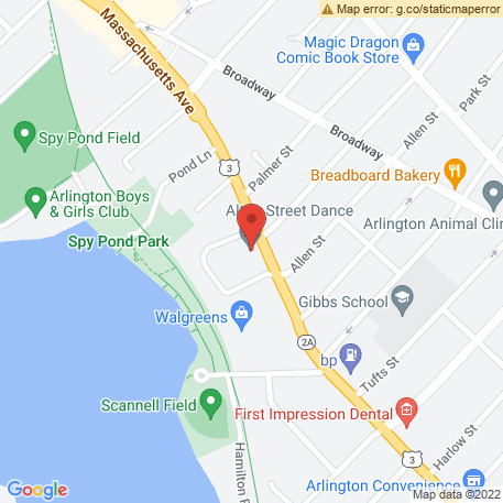 Equity Retention Service Inc on Map (344 Massachusetts Ave, Arlington, MA 02474) Map
