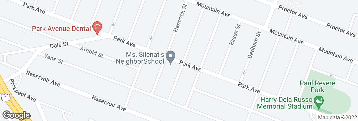 Map of Park Ave @ Genesee St and surrounding area
