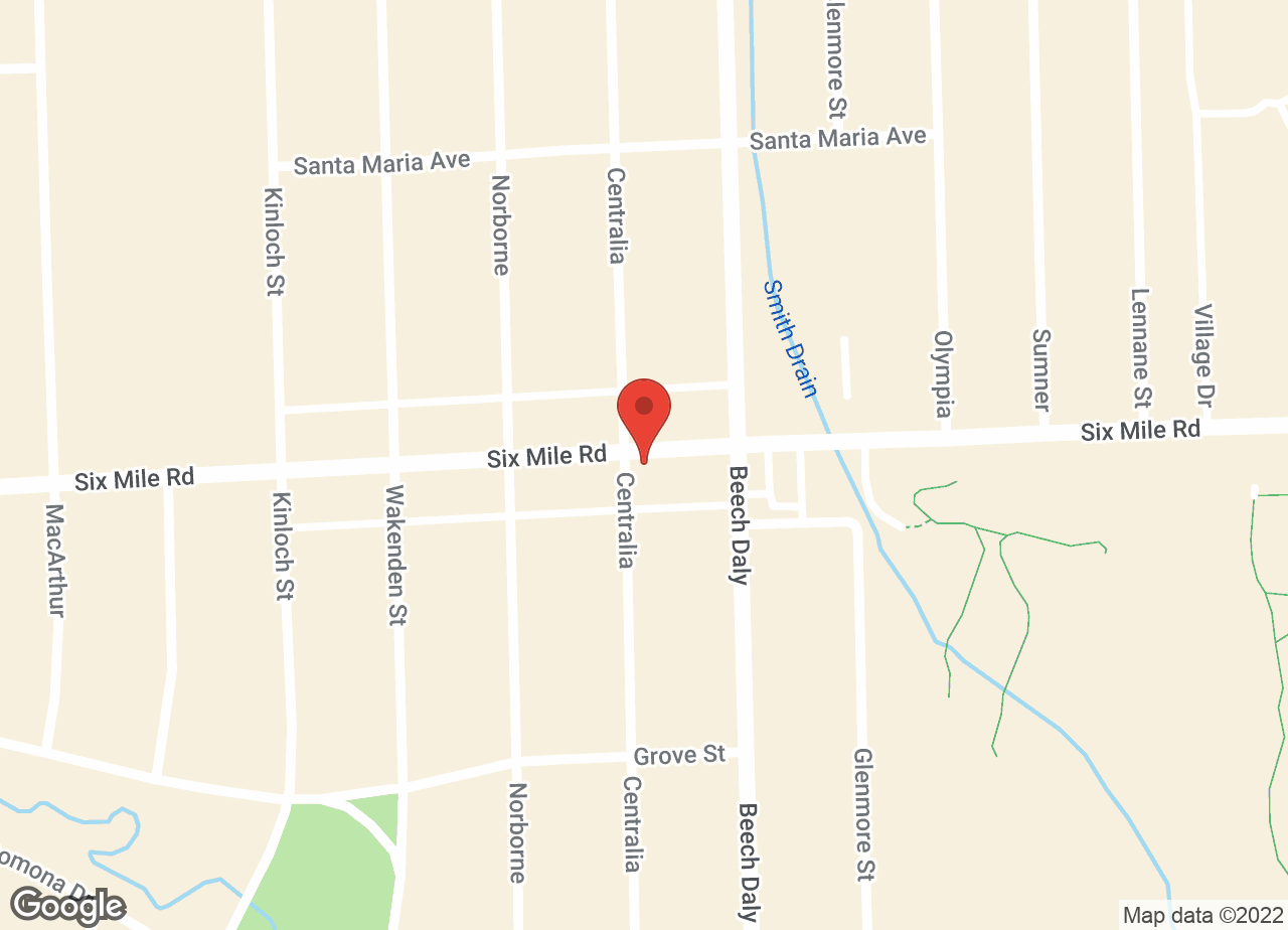 Google Map of VCA Beech Road Animal Hospital