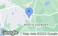 Map of Sudbury, MA
