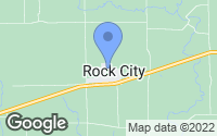 Map of Rock City, IL