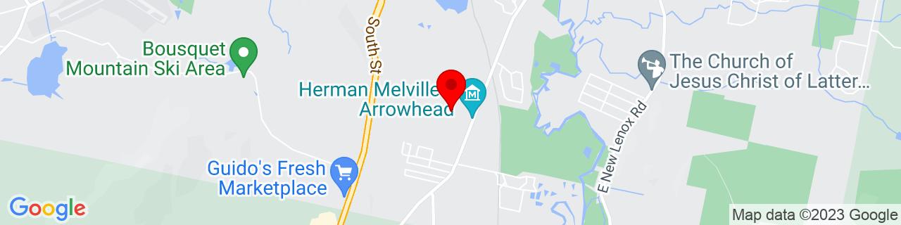 Google Map of 42.415902, -73.251267