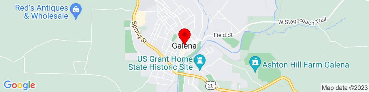 Google Map of 42.4166744, -90.4290168