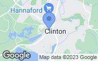 Map of Clinton, MA