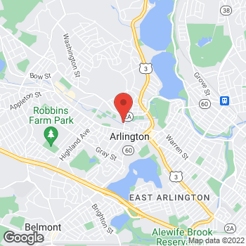 Map of William Flynn Jr., MD at 22 Mill Streetsuite 301, Arlington, MA 02476