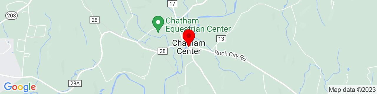 Google Map of 42.4181391, -73.6140058