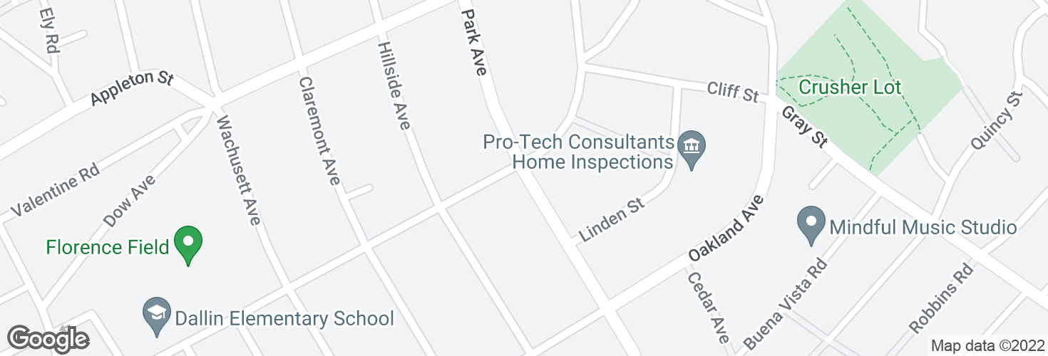 Map of Park Ave @ Florence Ave and surrounding area