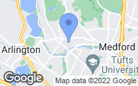 Map of Medford, MA