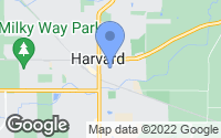 Map of Harvard, IL