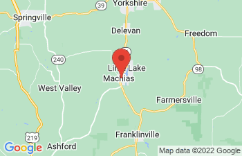 Map of Machias