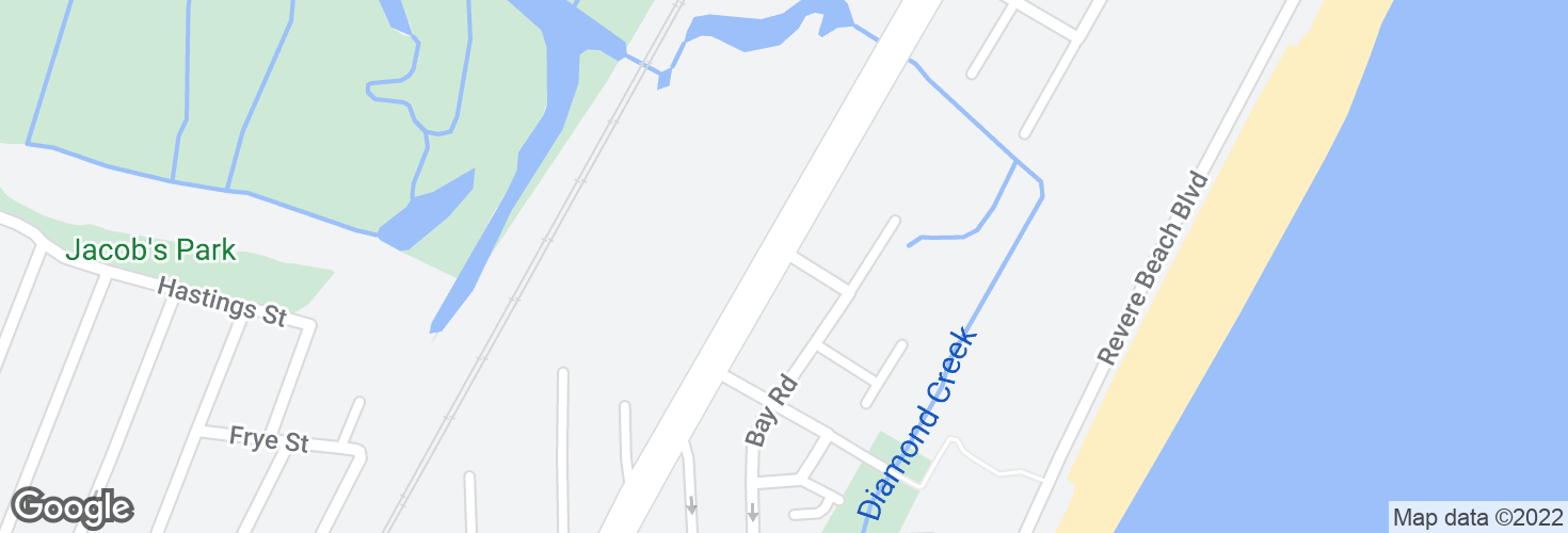 Map of N Shore Rd @ Jackson St and surrounding area