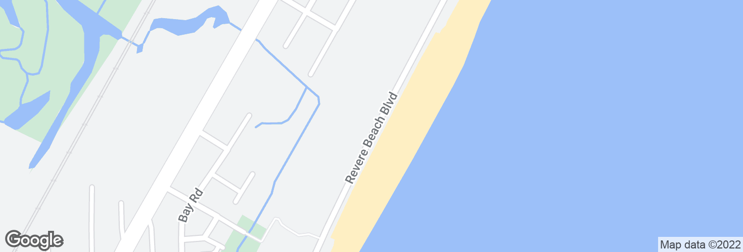 Map of 350 Revere Beach Blvd and surrounding area