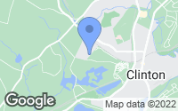 Map of Clinton, MA