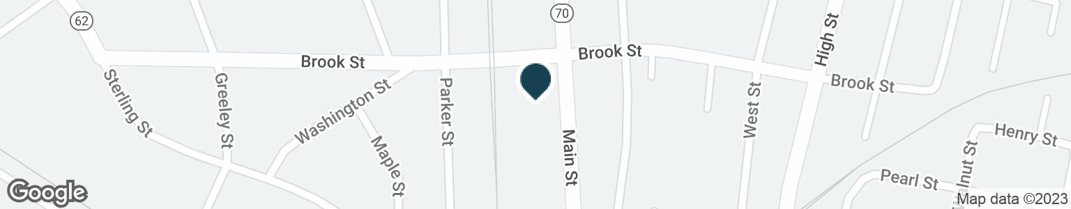 Google Map of720 MAIN ST