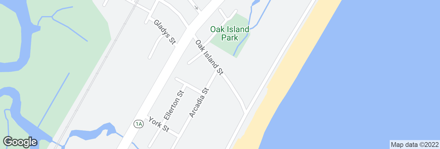Map of Jack Satter House @ Revere Beach Blvd and surrounding area