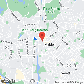 Map of Sprint at 155 Centre St, Malden, MA 02148