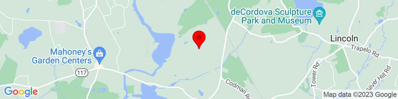 Google Map of 42.4251415, -71.34402709999999
