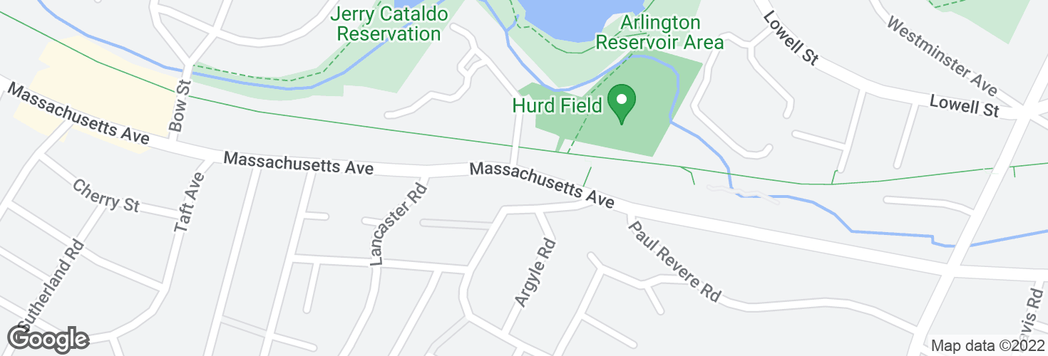 Map of Massachusetts Ave opp Drake Rd and surrounding area