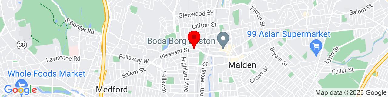 Google Map of 42.4269534, -71.07779239999999