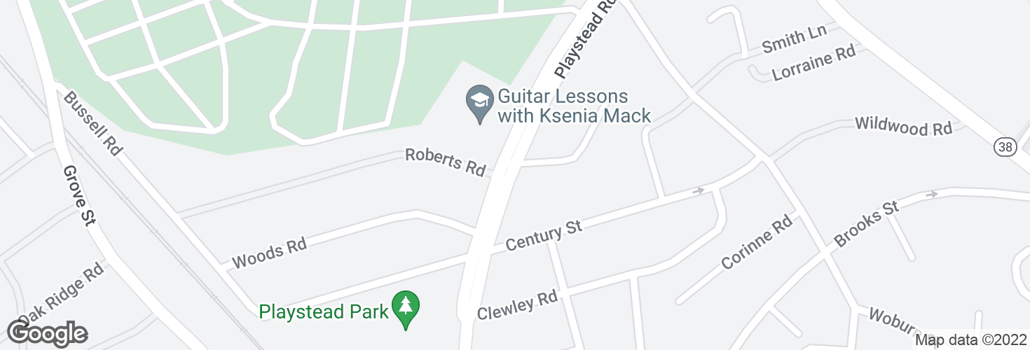 Map of Playstead Rd @ Dianne Rd and surrounding area