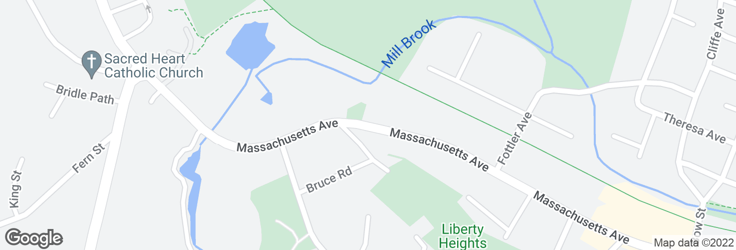 Map of Opp 430 Massachusetts Ave and surrounding area