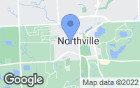Map of Northville, MI